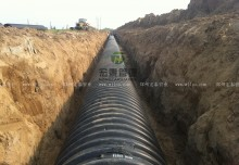 三门峡市虢国东路道路工程排水管道施工项目