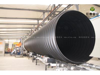 HDPE钢带增强聚乙烯螺旋波纹管